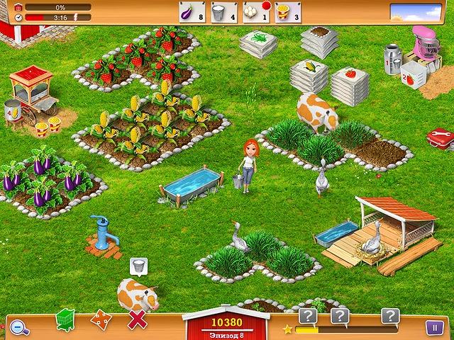 Фрагмент игры Реальная ферма