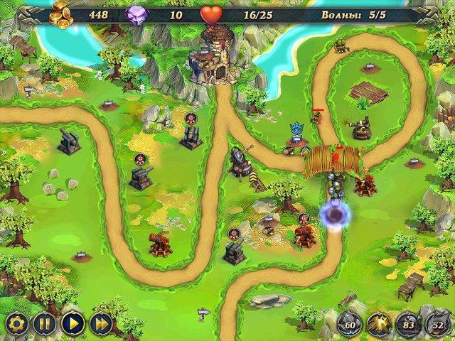 Фрагмент игры Королевская защита