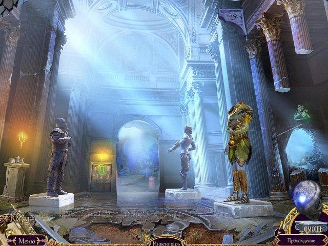 Фрагмент игры Королевский детектив Королева теней Коллекционное издание