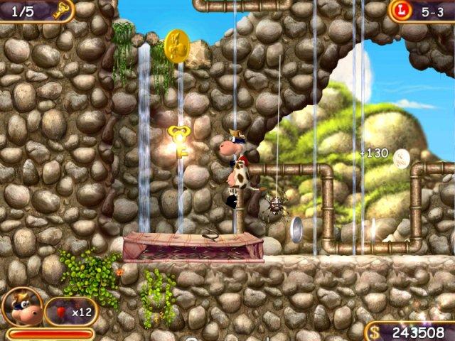 Изображение из игры Супер Корова