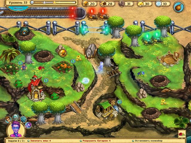 Фрагмент игры Юный чародей