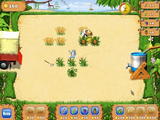 Фрагмент игры Тропическая ферма