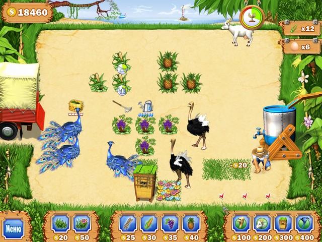 Игра Тропическая ферма Бизнес