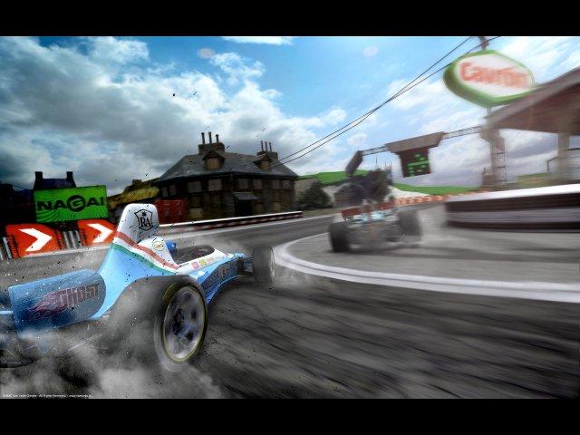 Фрагмент игры Victory Онлайн гонки