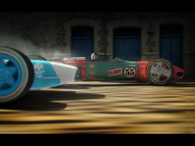 Изображение из игры Victory Онлайн гонки