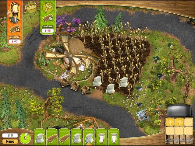 Фрагмент игры Youda Фермер. 3 в 1