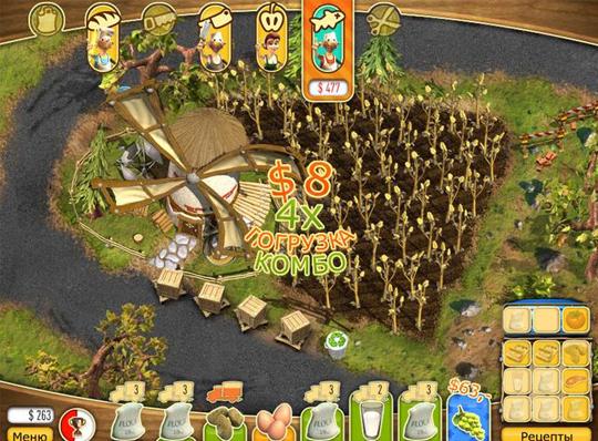 Игра Youda Фермер 2 Спаси городок Бизнес
